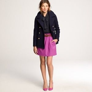 [J.Crew] city mini skirt.